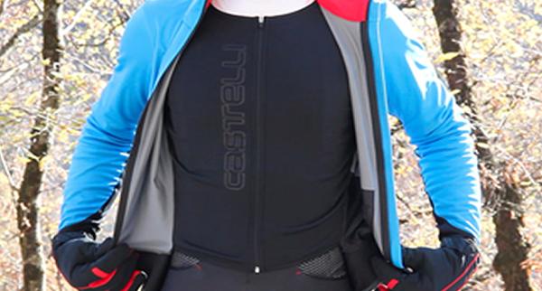 chaqueta castelli alpha con chaleco
