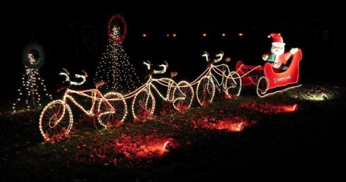 navidad ciclista