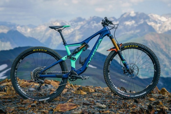 bicicleta orbea rallon m10 2018 azul