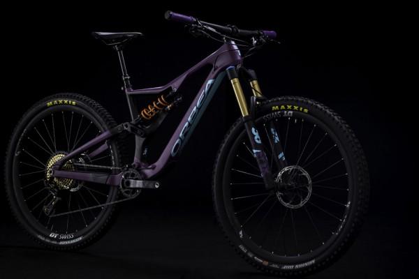 bicicleta orbea rallon m10 2018 morado