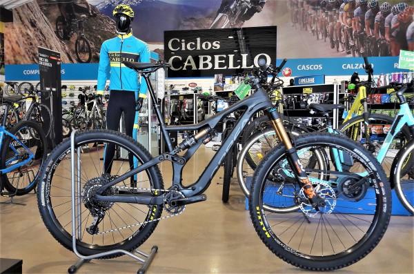 bicicleta orbea rallon m10 2018 negra